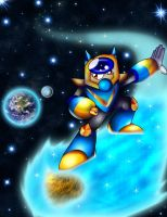 Cosmic Man's Ride by spdy4