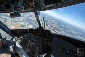 Right Seat of a deHavilliand DHC-6 Twin Otter by soak2179