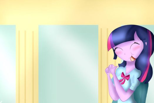 [MLP-EQG] Twilight likes bacon by Sashapie400