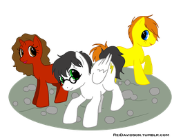 .: Harry Potter Ponies :. by ReiDavidson