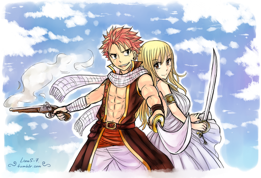AU - pirates NaLu. 6 by LeonS-7
