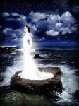 lady of the waves by ribcage-menagerie