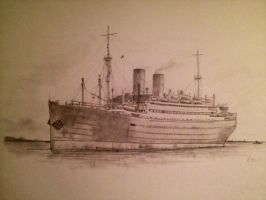 SS Berlin by Pictaview