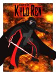 Kylo Ren- The Knight of the First Order by TheScarletMercenary