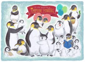 The Love Dedication of Emperor Penguins by zsami