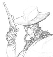 Cad Bane Star Wars by ChrisOzFulton