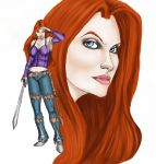 Auria Edith by Selkirk by carol-colors