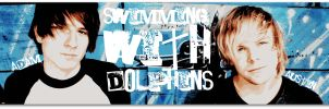 Swimming With Dolphins by realtimelord