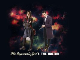 The Doctor and The Impossible Girl by LaMoonstar