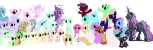 Look at my friends! [COLLAB OPEN] by Pikachumaster