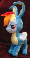 Rainbow Dash the WonderBunny! by Cryptic-Enigma