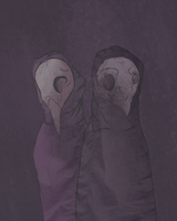 the owl and the penguin by faqqot