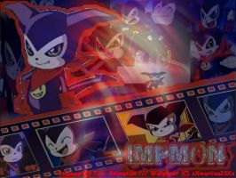 Impmon Wallpaper by xXmariisa23Xx