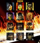 Mortal Kombat - Scorpion's Evolution by StainBreak