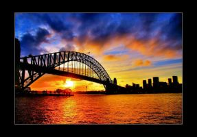 The Harbour Bridge by psychorchestra