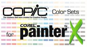 Copic Color Sets for Painter X by Flareon-Jupiter