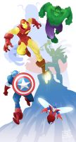 Avengers Assemble by Nezart