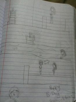 percabeth comic shetch for stinafelix by lexandramp