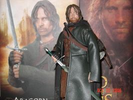 'out of the box' Aragorn by DarrenCarnall