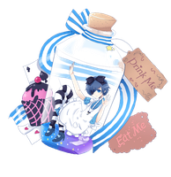 Ciel in Bottle Wonderland by RinRinDaishi
