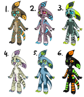 ADOPTABLE SALE! ALL LEFTOVERS 1$!! by Griwi