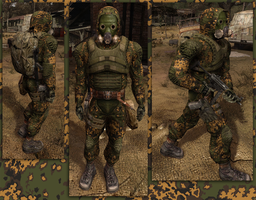 Partizan Stalker Suit by crowhitewolf
