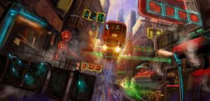 Hong Kong of 2046 By dsnGiap by The-UAC