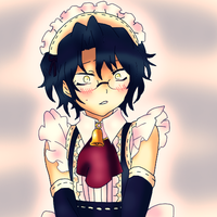 Maid Gilbert by AmuletDia-Chan