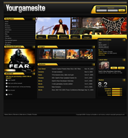 Gaming website game overview p by beatsta