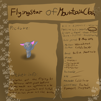 Leader of Mountain Clan - Flyingstar by pokebulba