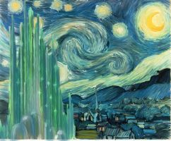 A Starry Night at the Emerald by MysteriousGirlfriend