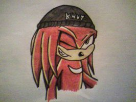 Knuckles' cap by 1KnucklesTheEchidna1