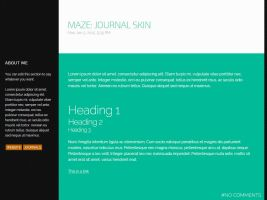 MAZE: Journal Skin by UJz