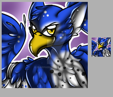 Gryphon +Icon Commission+ by iSapphirus