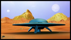 C57-D on planet Altair IV by MotoTsume