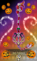 Keyblade Holy Pumpkin by Marduk-Kurios
