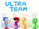 Ultra-the-Hedgehog's team by LazyAsHell