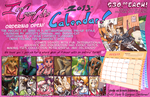 2013 IceCreamCat Calendar ORDERING: now open! by carnival
