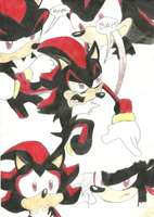 Shadow The Hedgehog - Poster by MaddieTyler
