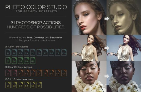 Photo Color Studio - Photoshop Actions by kevinhamil