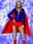 Supergirl in Hotpants1 by Hotrod by kclcmdr