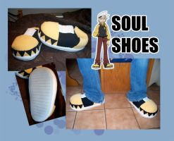 Soul Shoes by nooby-banana