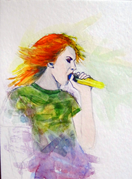 hayley from paramore by stripedalchemist