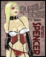 Mistress Spencer Rumble Roses Pin-Up by Chuck-K