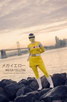 Mega Yellow / Yellow Space Ranger by mariesturges