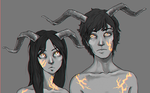 . souls of fire [gif version] . by chaffyy
