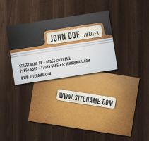 Folder Style Business Card by nexion218