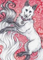 ACEO Trade: White by Agaave