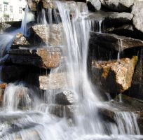 Waterfall - stock 1 by Angband