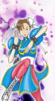 Fighting Game Girls - Chun-Li by eduardus